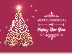 Corporate ecards professional business to business greetings for 050 christmas standard reheart Image collections